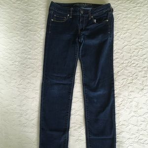 AMERICAN EAGLE Skinny Super Stretch Blue Jeans 4